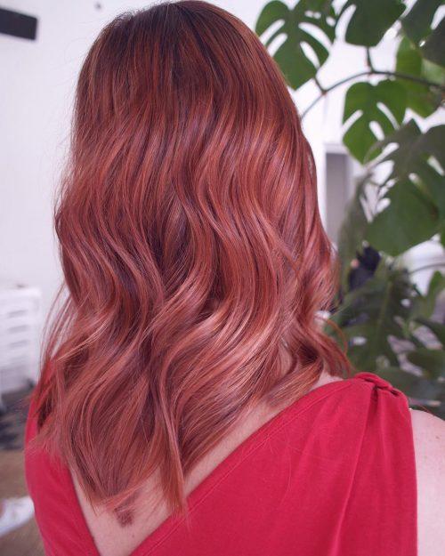 Pastel Red Hair