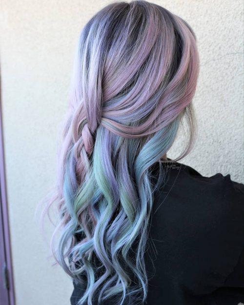 Pastel Unicorn Hair