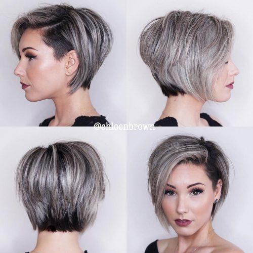 Coupe de cheveux Pixie Bob