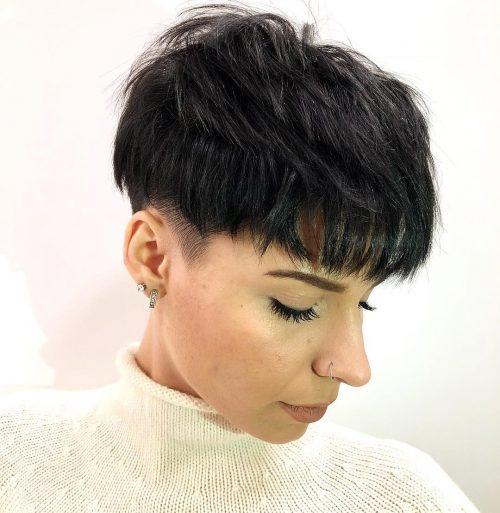 La plus belle façon de coiffer une coupe Pixie