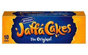 Un paquet de gâteaux Jaffa