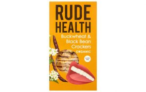 Craquelins de sarrasin et haricots noirs Rude Health