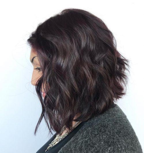 Dark Plum Hair