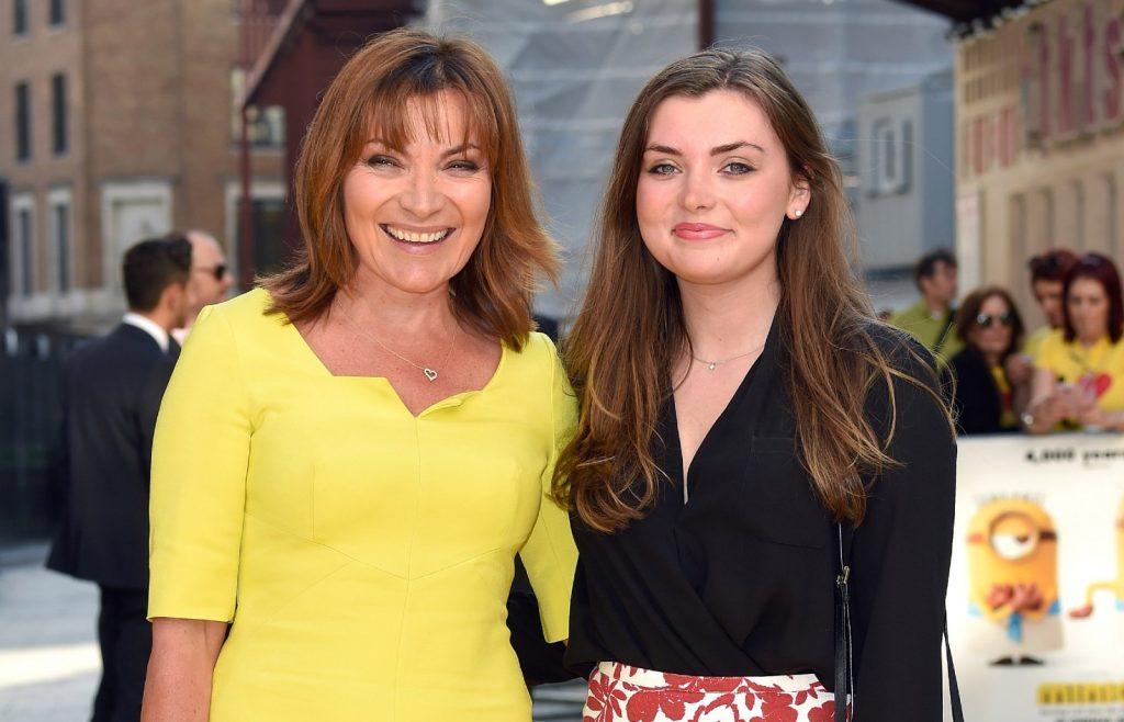 Lorraine Kelly et sa fille Rosie Smith assistent à la première mondiale de