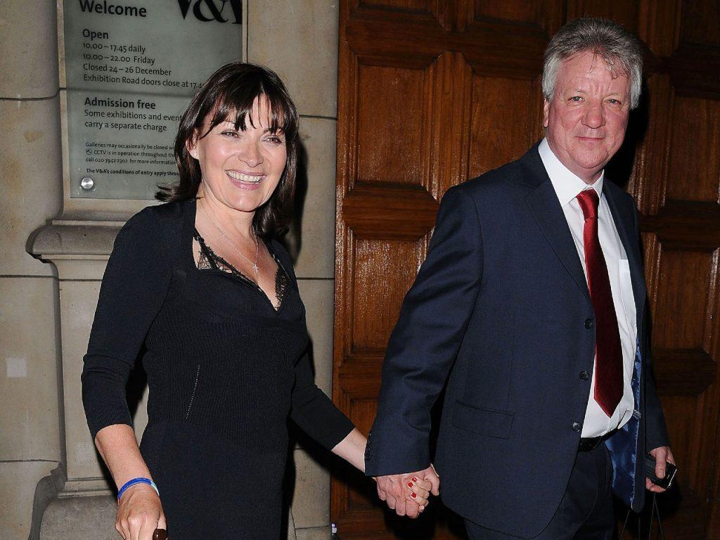 Lorraine Kelly et son mari Steve Smith à la fête du 50e anniversaire de Jonathan Shalit au V&A.