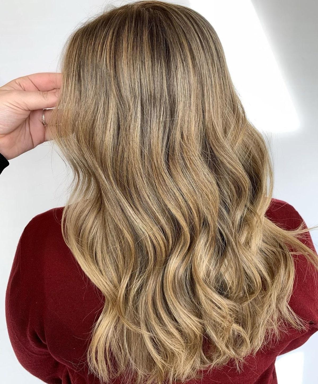 Cheveux blonds sable foncé