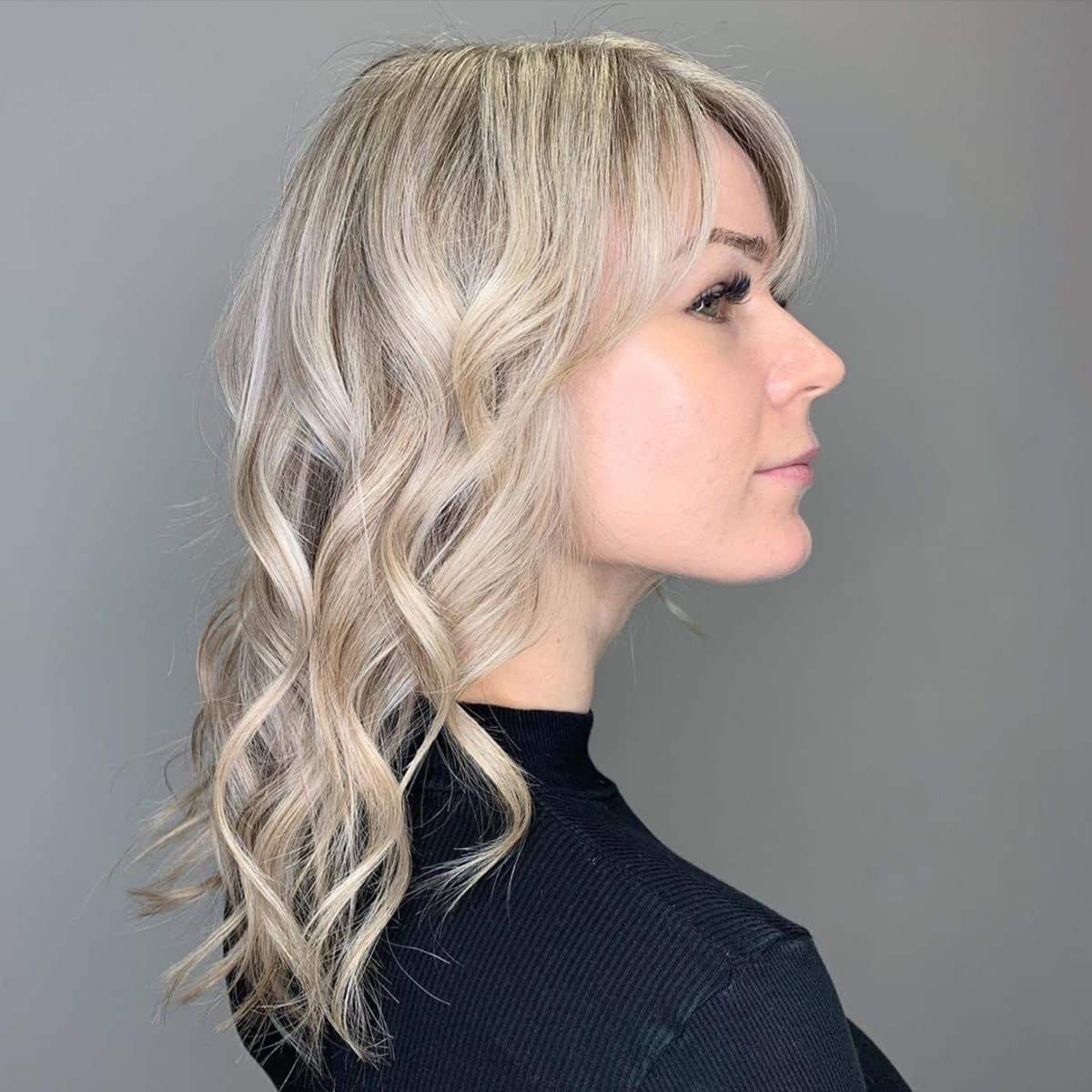 Sandy Silver Blonde