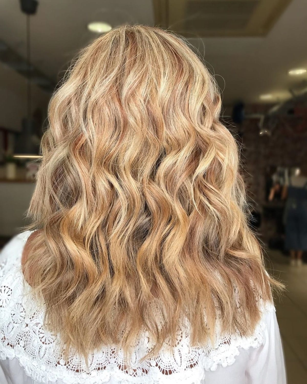 Blonde sableuse auburn