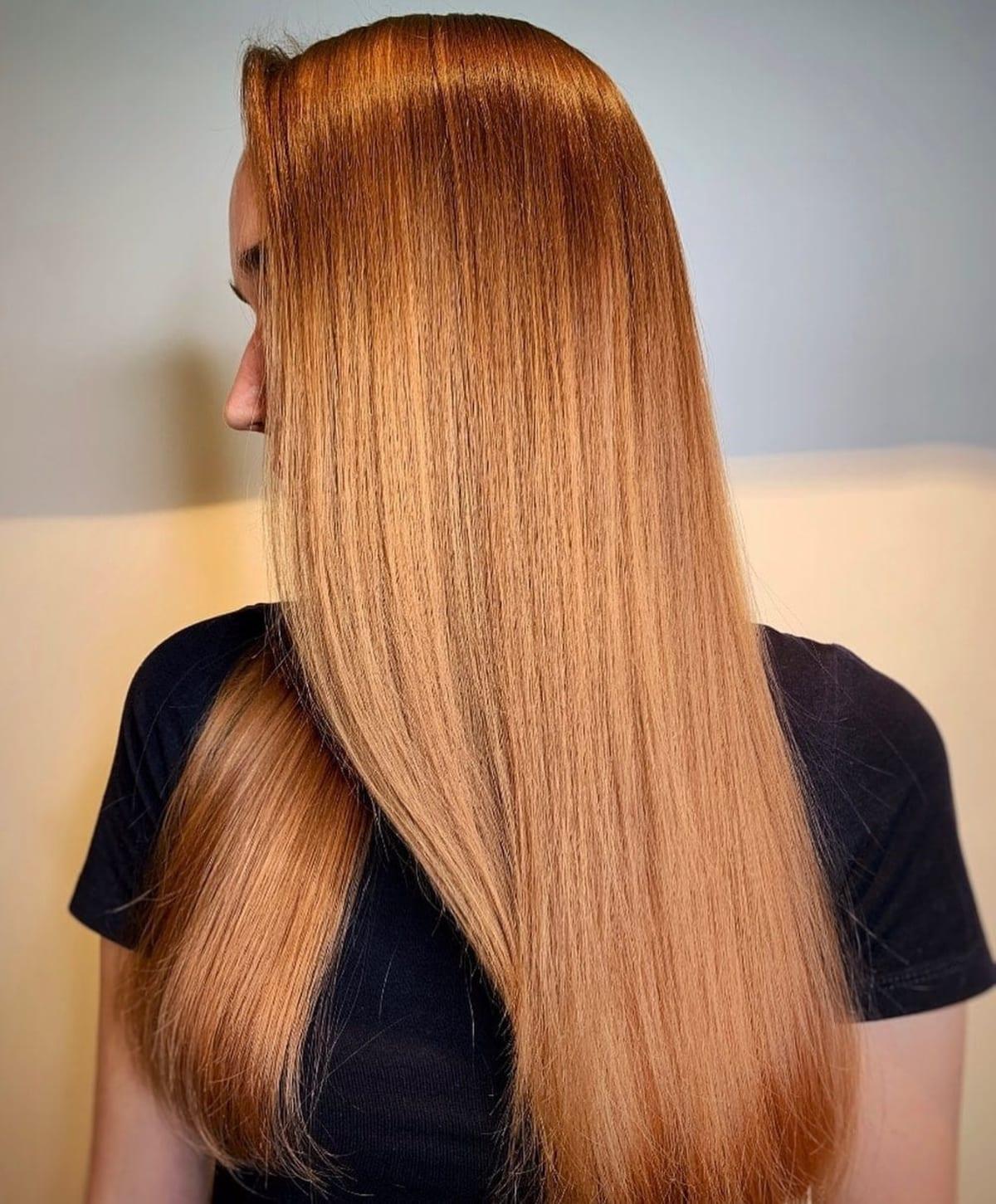 Sandy Copper Blonde