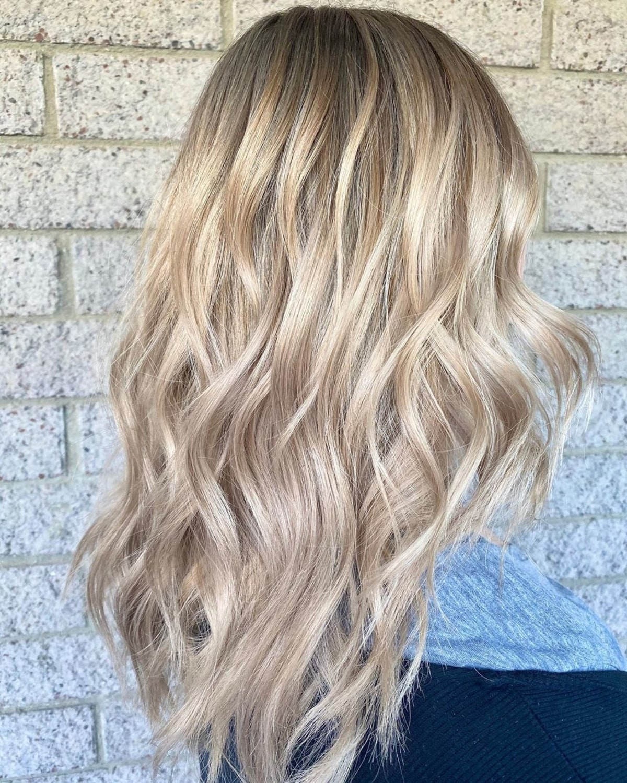 Blonde beige sable