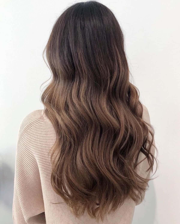 Sandy Brunette Hair