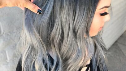 Best silver ombre hair colors