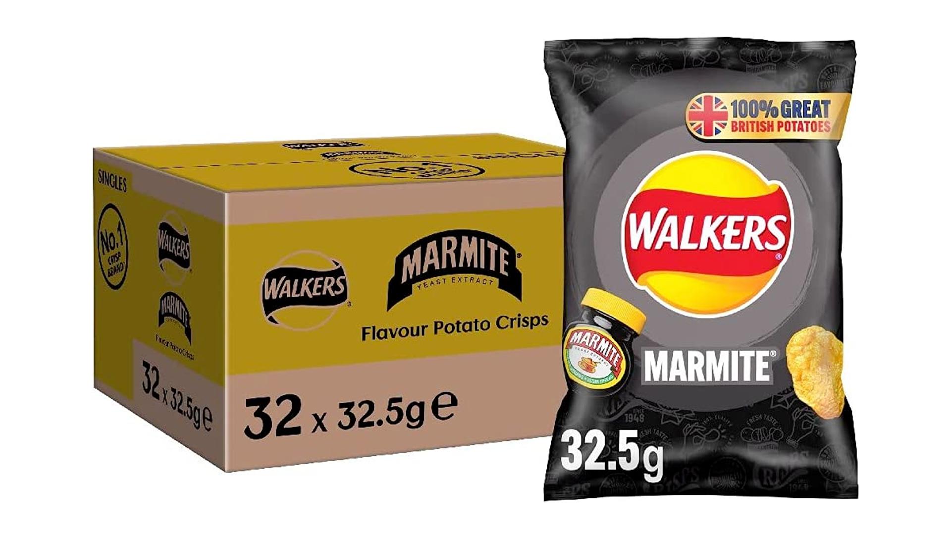 Chips Walkers à la marmite