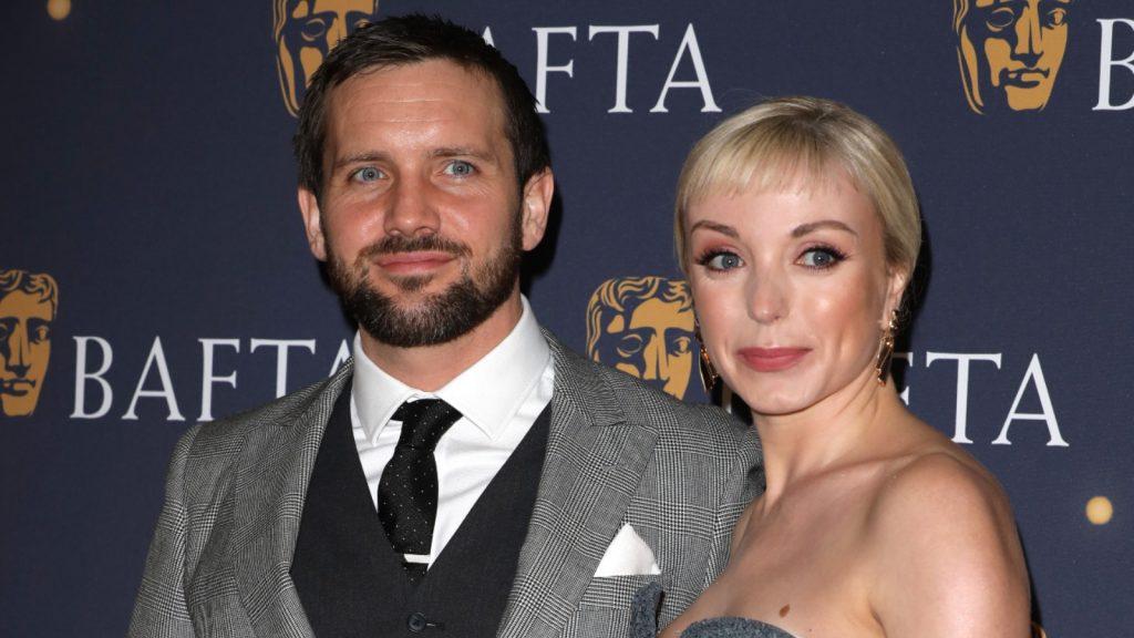 Helen George et son mari Jack Ashton dans la série