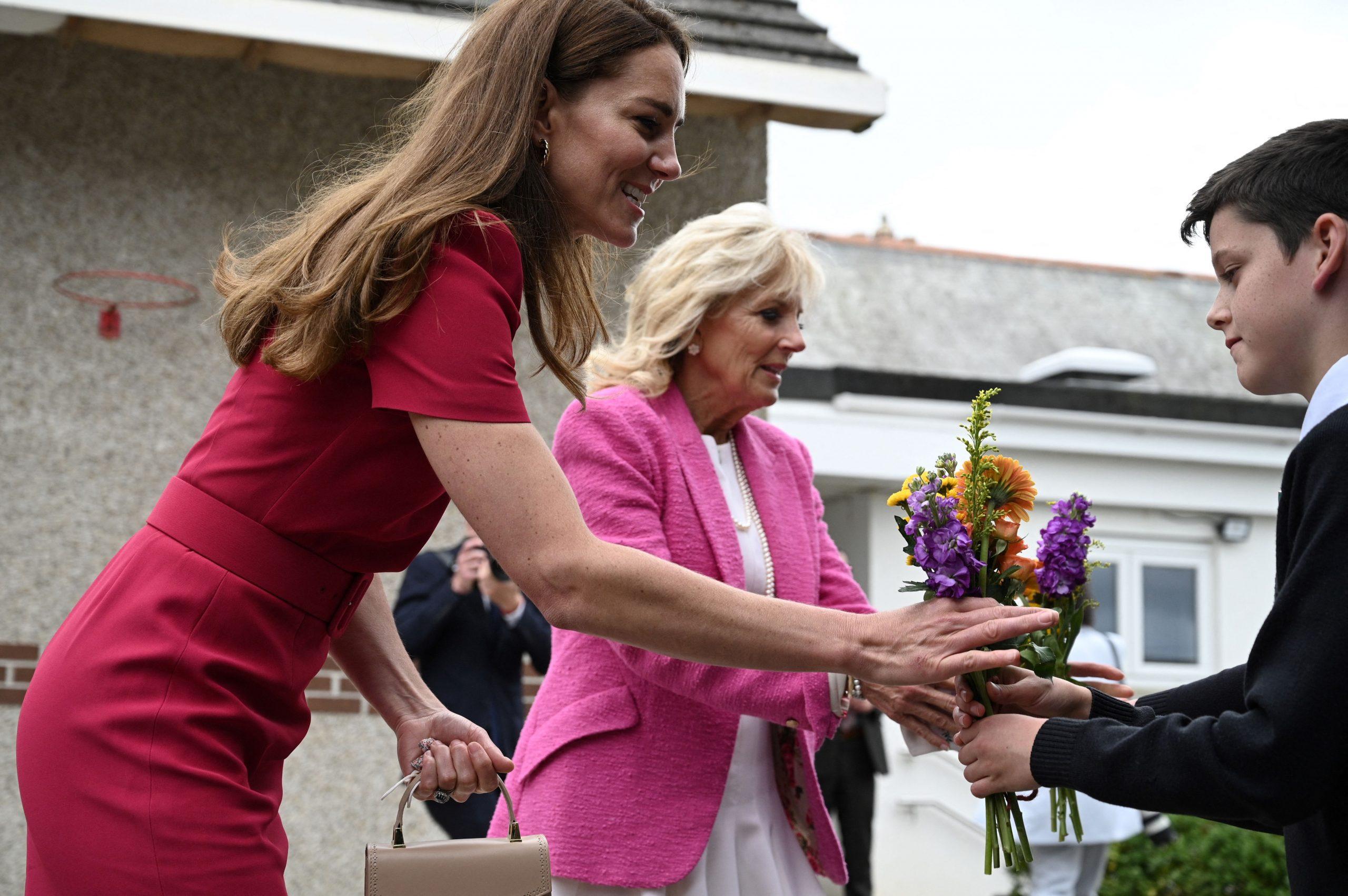 Kate Middleton, Jill Biden, sommet du G7