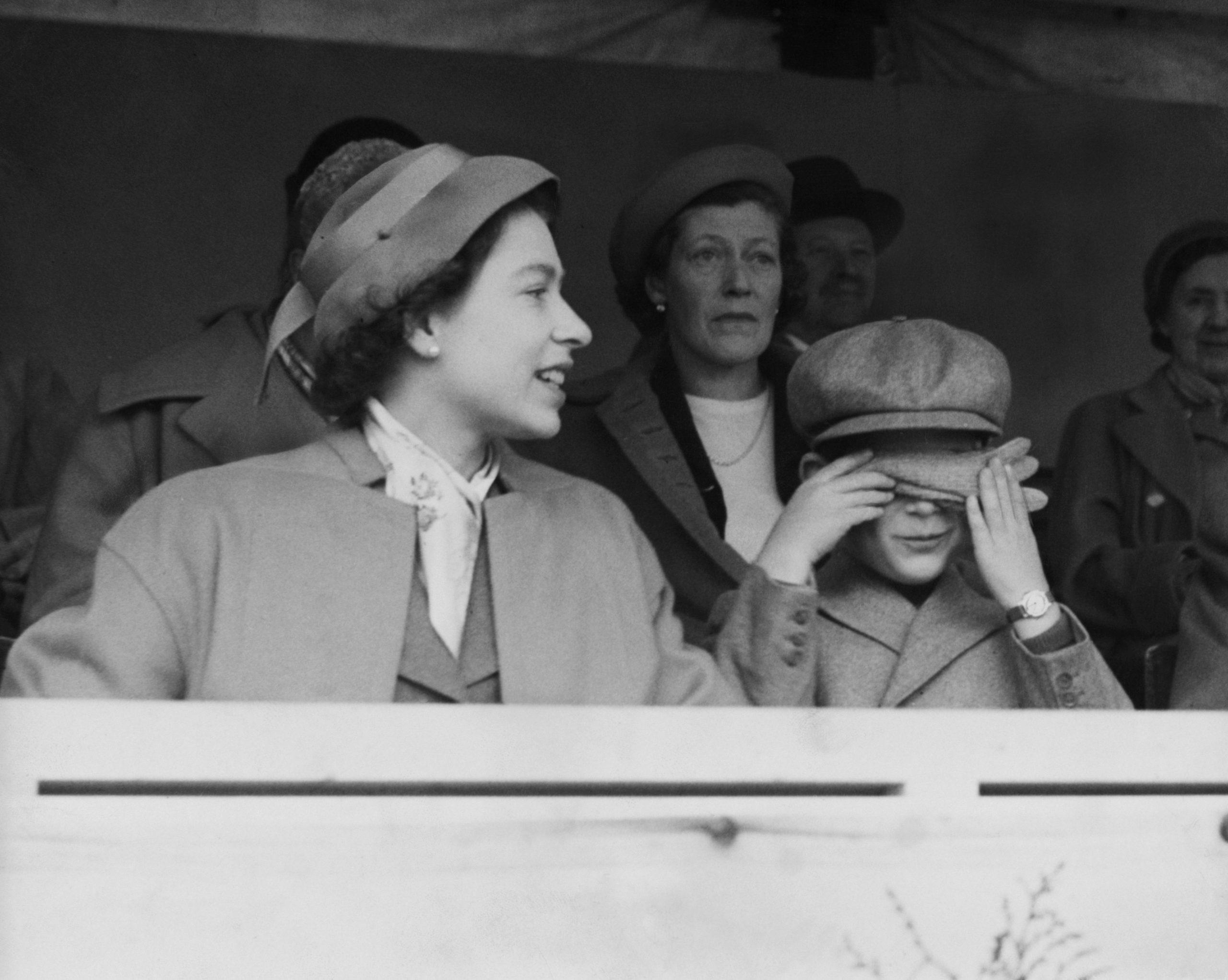 La Reine et le Prince Charles