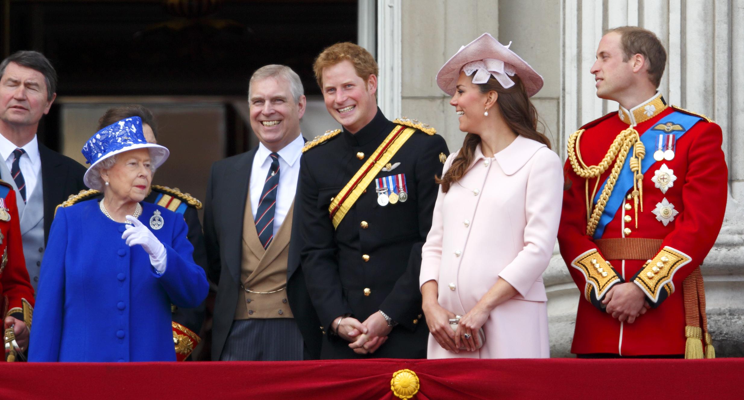La reine, Kate Middleton enceinte