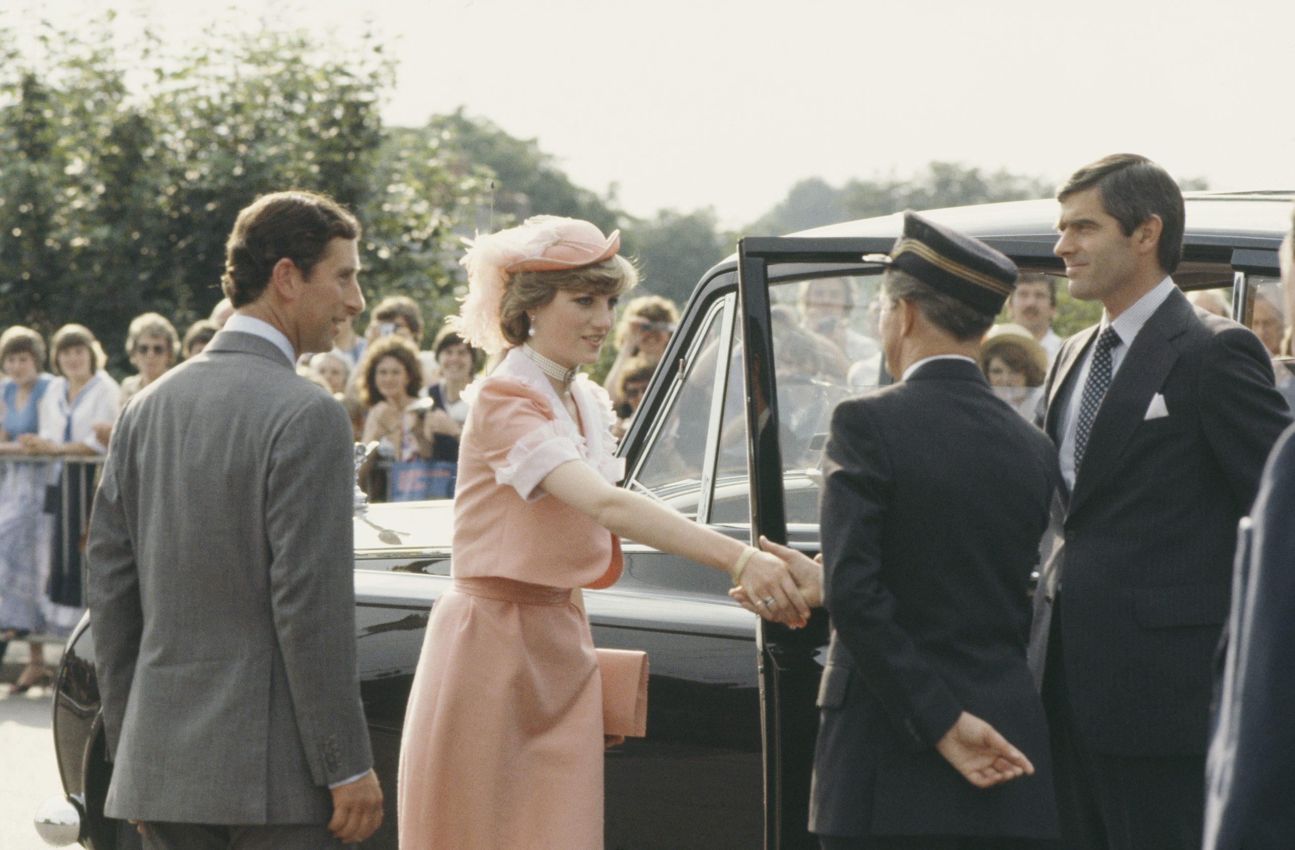 La robe de lune de miel de la Princesse Diana