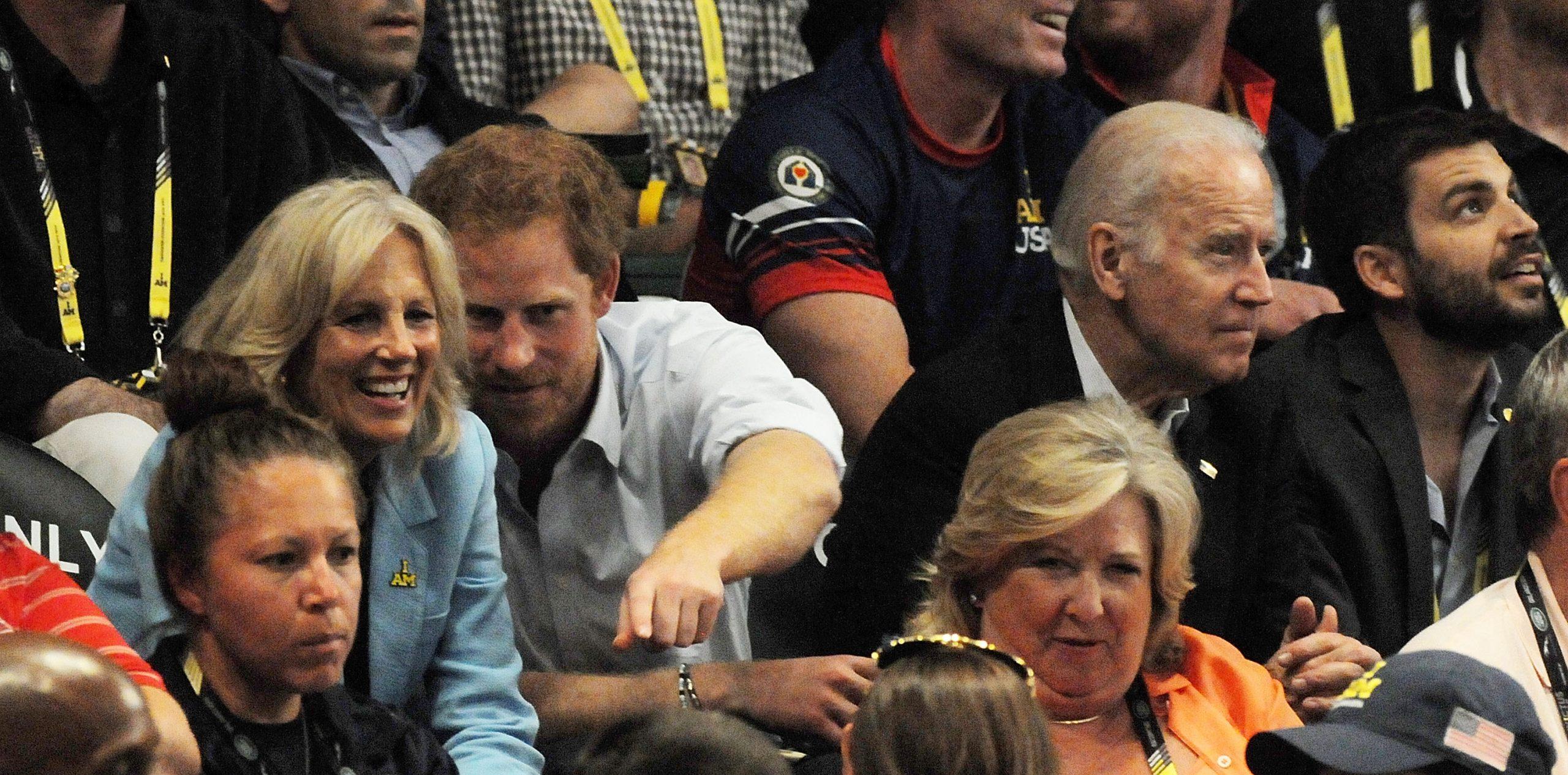 Jill Biden et le Prince Harry