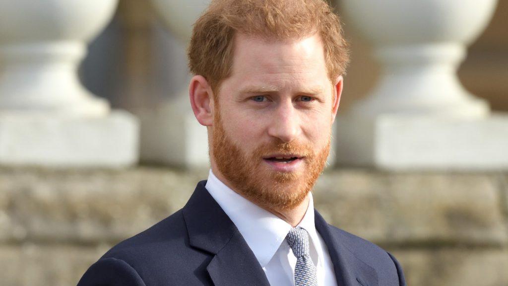 Le prince Harry, duc de Sussex, accueille la Coupe du monde de rugby 2021.