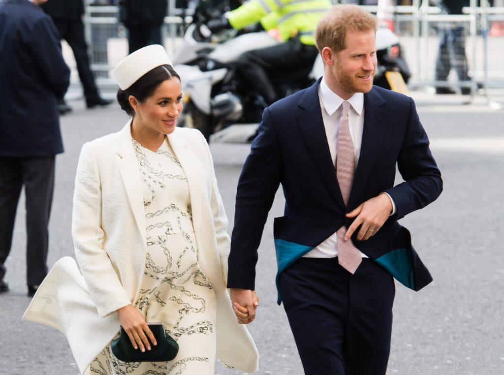 Le prince Harry, duc de Sussex, et Meghan, duchesse de Sussex, assistent au service de la Journée du Commonwealth à l'abbaye de Westminster, le 11 mars 2019 à Londres, en Angleterre.