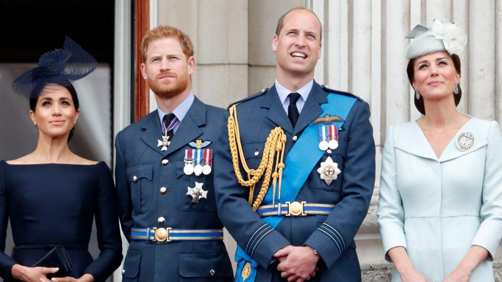 Les membres de la famille royale participent aux événements marquant le centenaire de la RAF