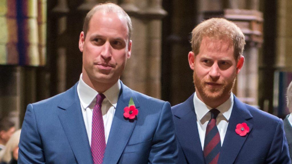 Le prince William, duc de Cambridge et Catherine, duchesse de Cambridge, le prince Harry, duc de Sussex et Meghan, duchesse de Sussex, assistent à un service marquant le centenaire de l'armistice de la Première Guerre mondiale à l'abbaye de Westminster, le 11 novembre 2018 à Londres, en Angleterre.