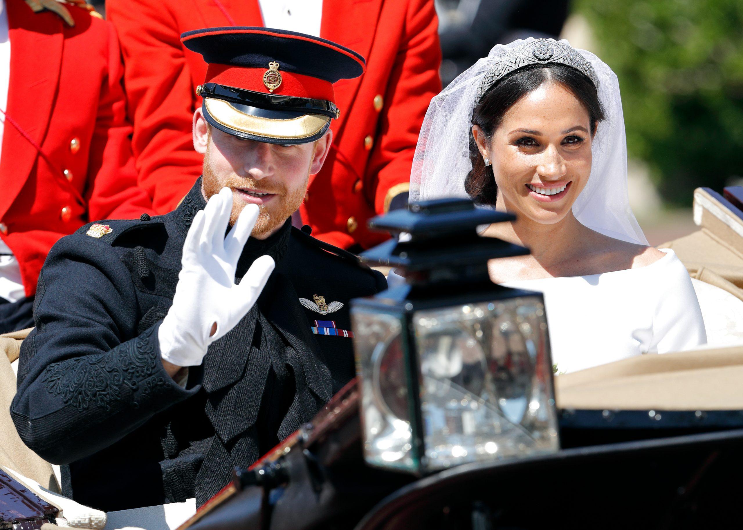 Meghan Markle et le Prince Harry,