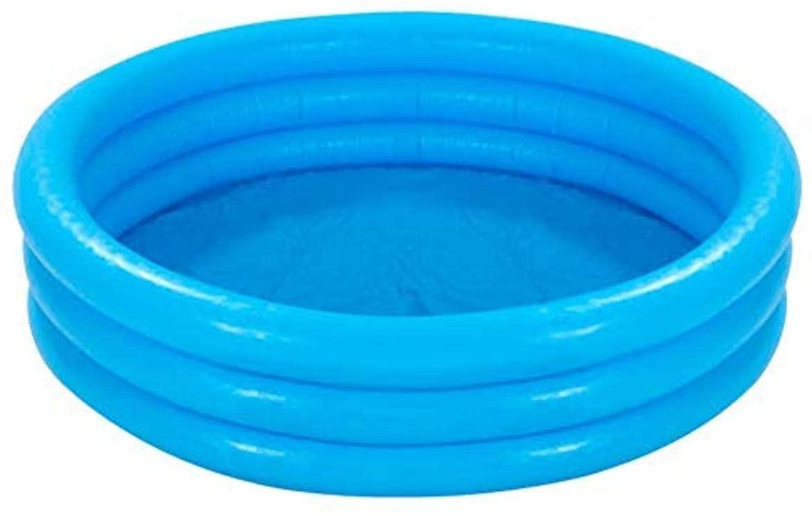 Piscine gonflable Intex 59416NP Crystal Blue à trois anneaux.