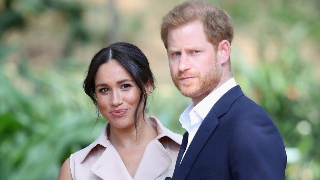 Le Prince Harry, Duc de Sussex et Meghan, Duchesse de Sussex, assistent à une réception des industries créatives et des entreprises.