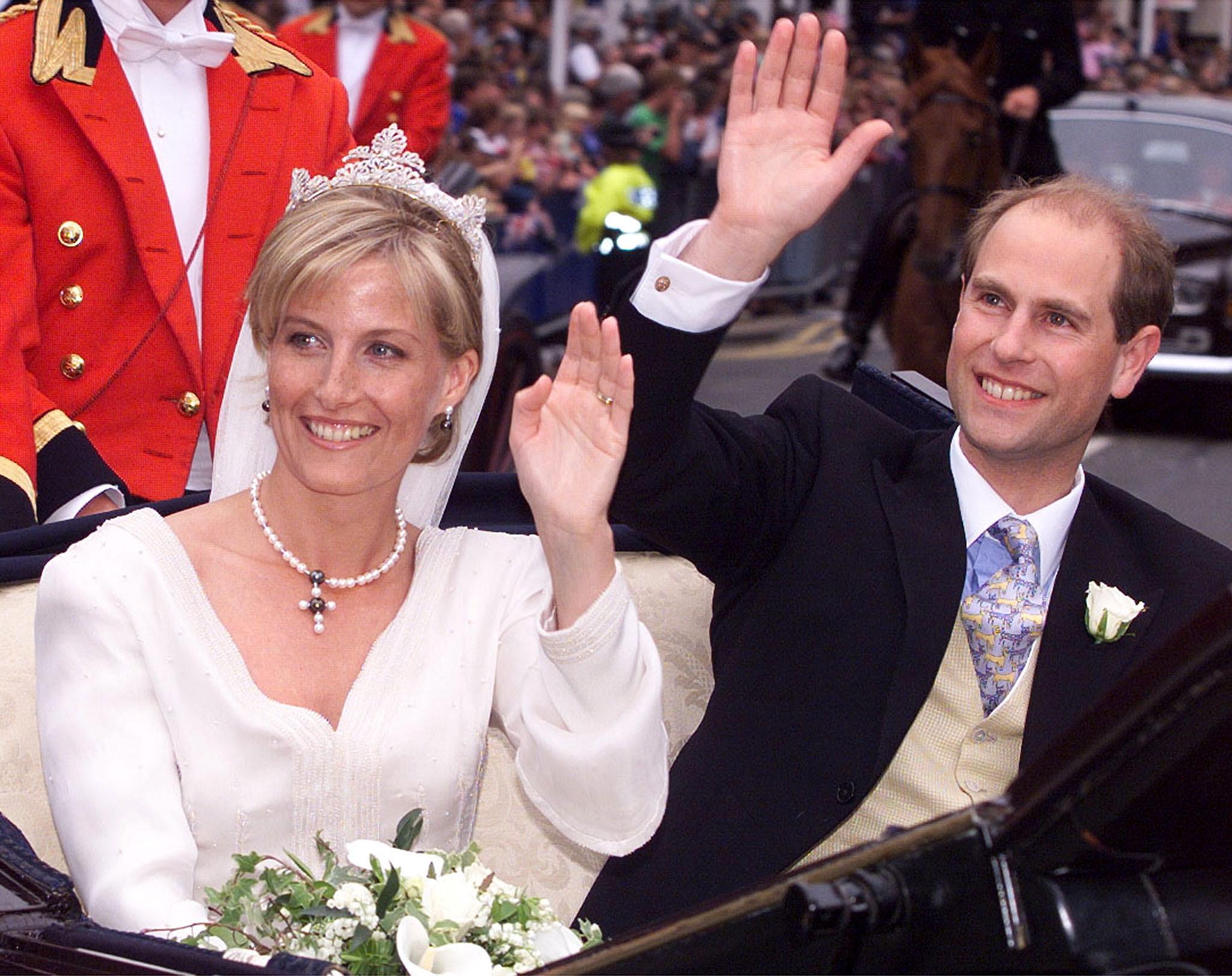 Sophie Wessex et Comte de Wessex