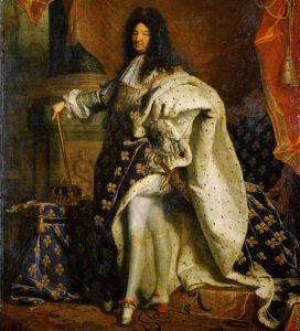 Louis XIV, roi de France qui serait responsable de la raison pour laquelle les femmes accouchent couchées.