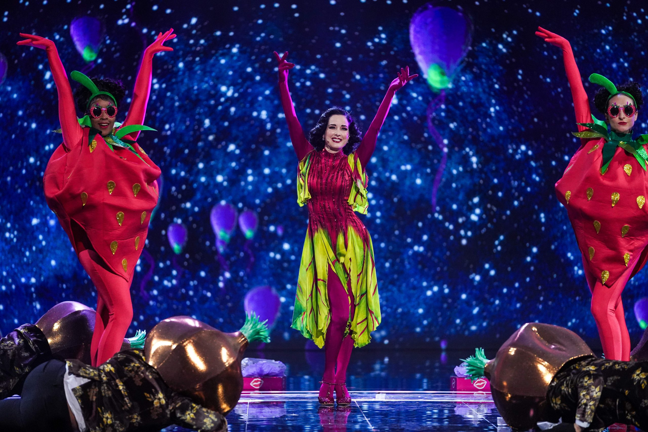 Dita Von Tesse, Le Chanteur Masqué, ITV,