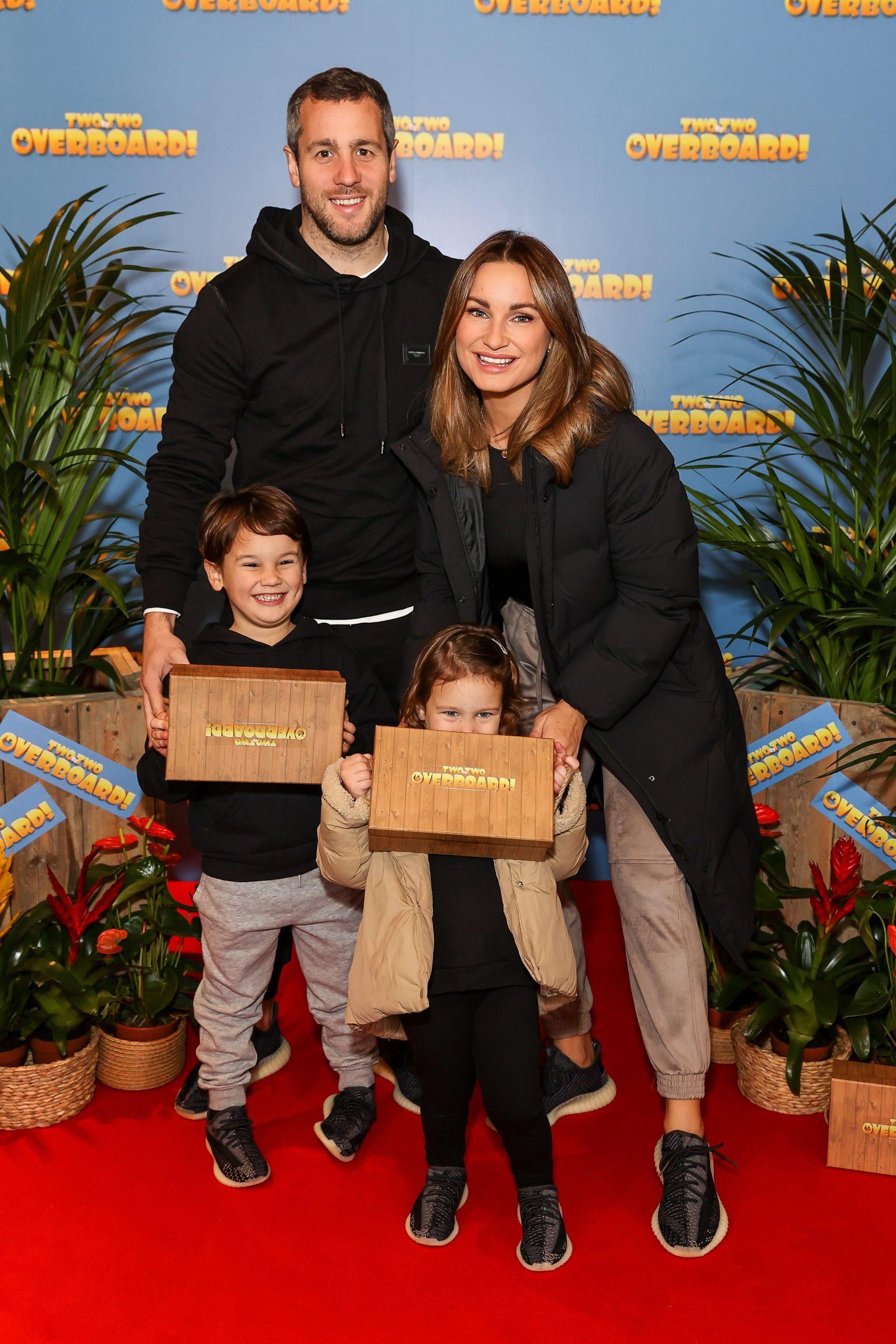 Sam Faiers et sa famille
