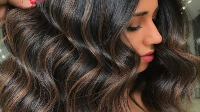 Pictures of popular balayage dark brown hair colors