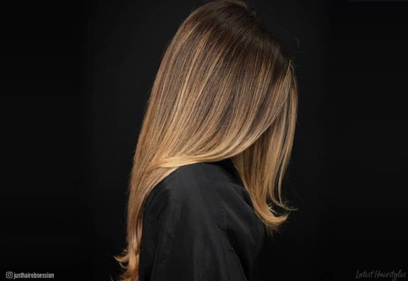 The best balayage straight hair color ideas