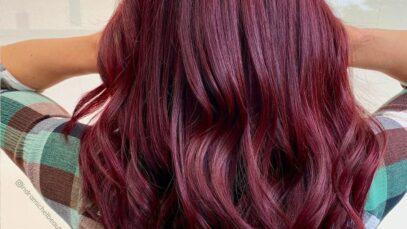 The best dark burgundy hair colors