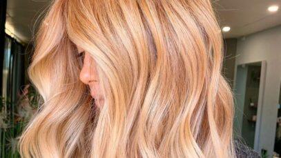Best golden blonde hair colors