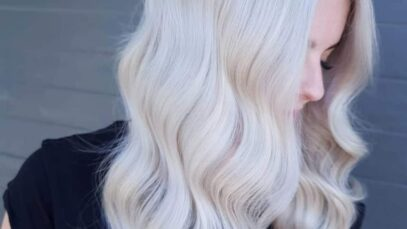 The best ways to get an icy blonde hair color