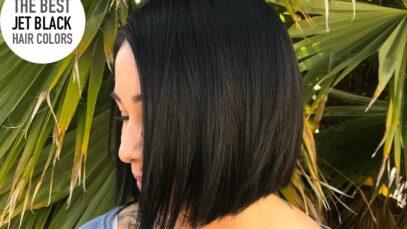 Jet black hair colors