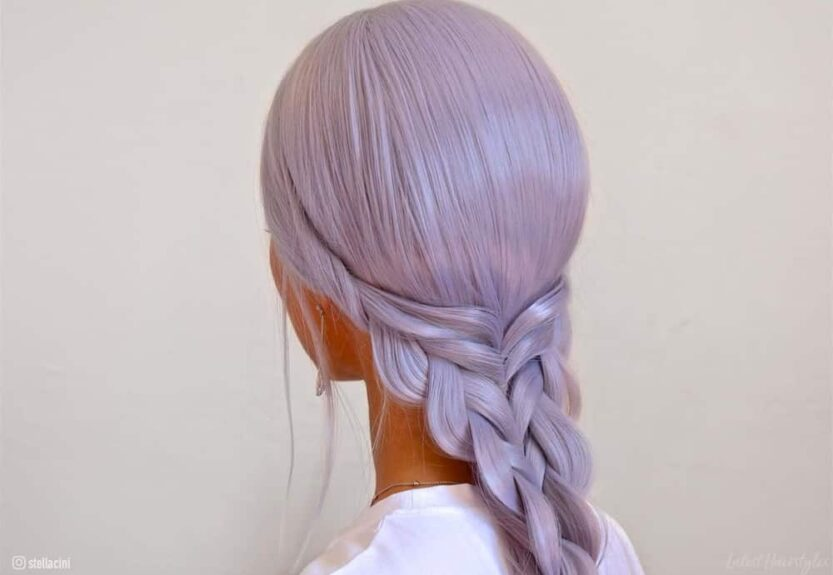 The best light purple hair color ideas