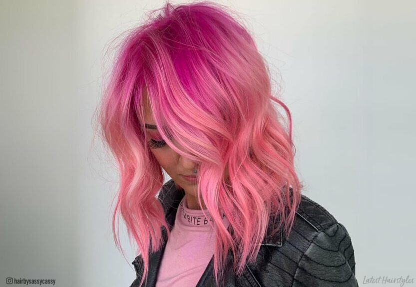 Best ways to get pink ombre hair color