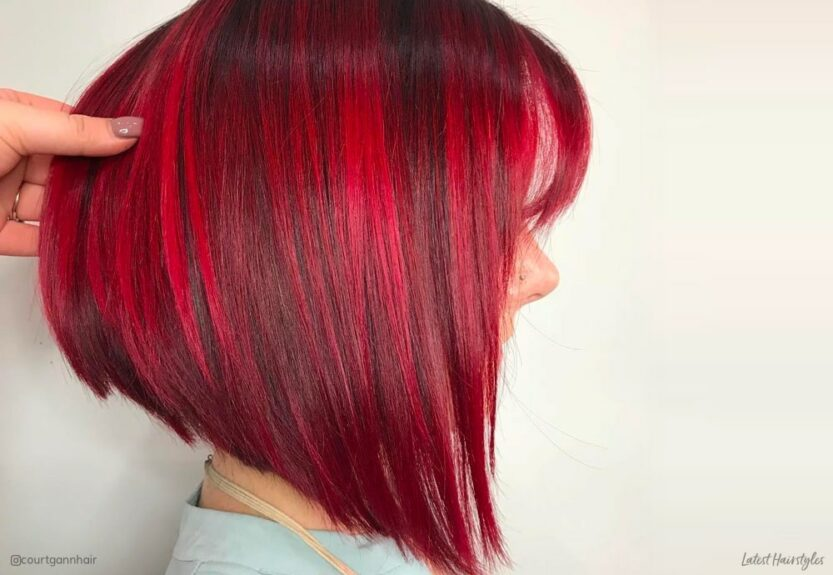 Best short red hair colors