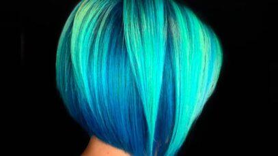 Best teal hair color ideas