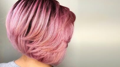 Feathered haircuts for women