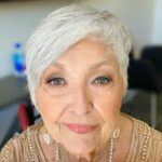Hairstyles for women over 60 with grey hair