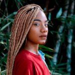 The most popular blonde box braids