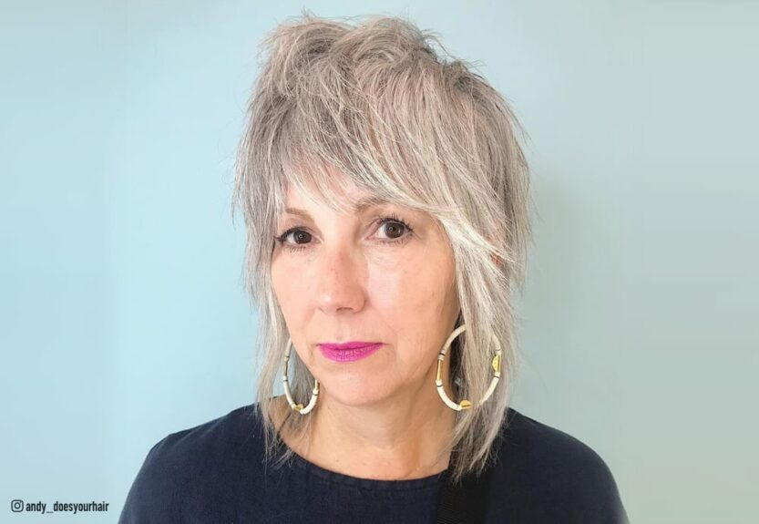 Shag hairstyles for women with fine hair over 50