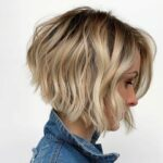 Short wavy bob haircuts for women