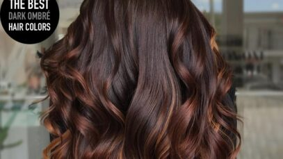 The best dark ombre hair colors